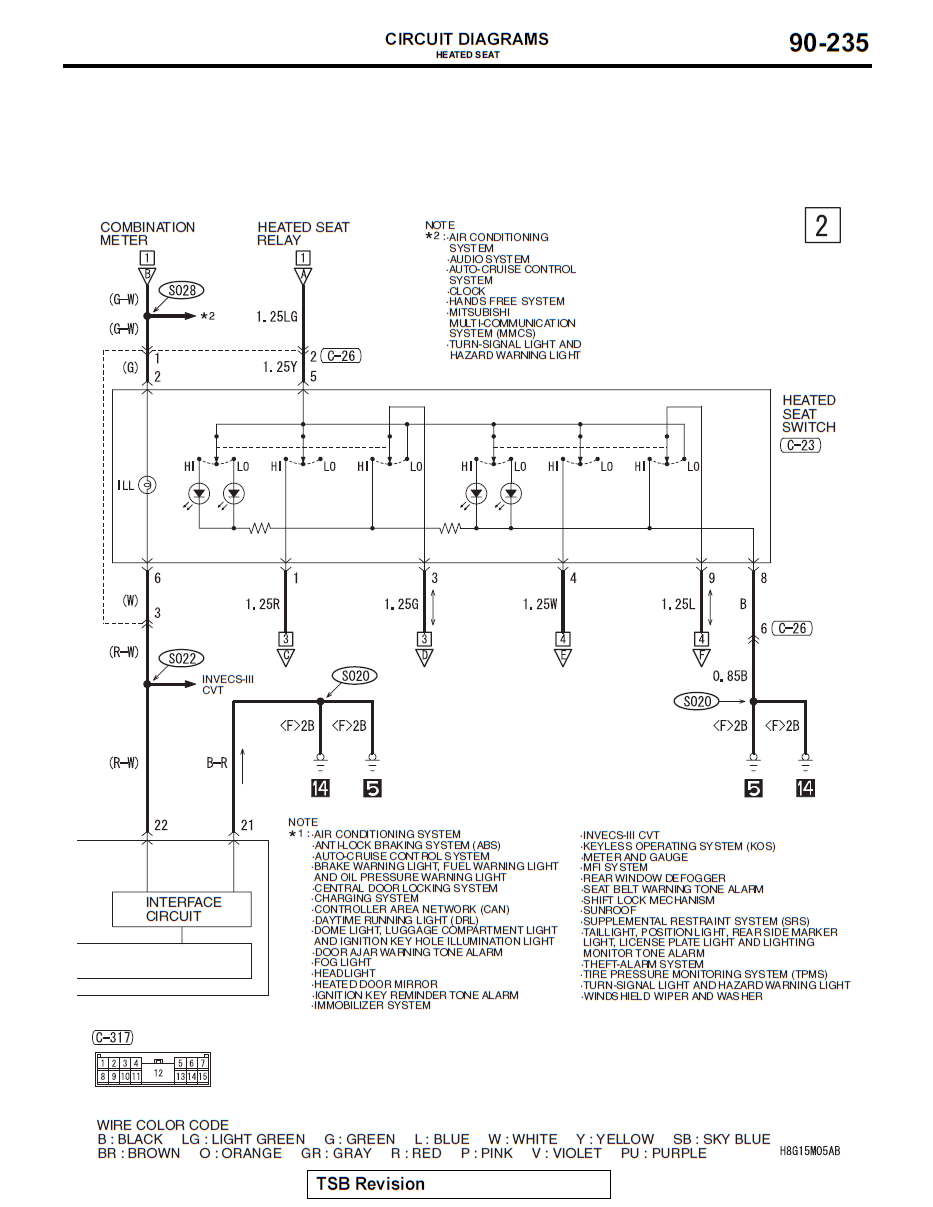1316331998_CJheatedseat2 diagrams 528632 2003 mitsubishi eclipse radio wiring diagram 2003 mitsubishi lancer stereo wiring diagram at bakdesigns.co