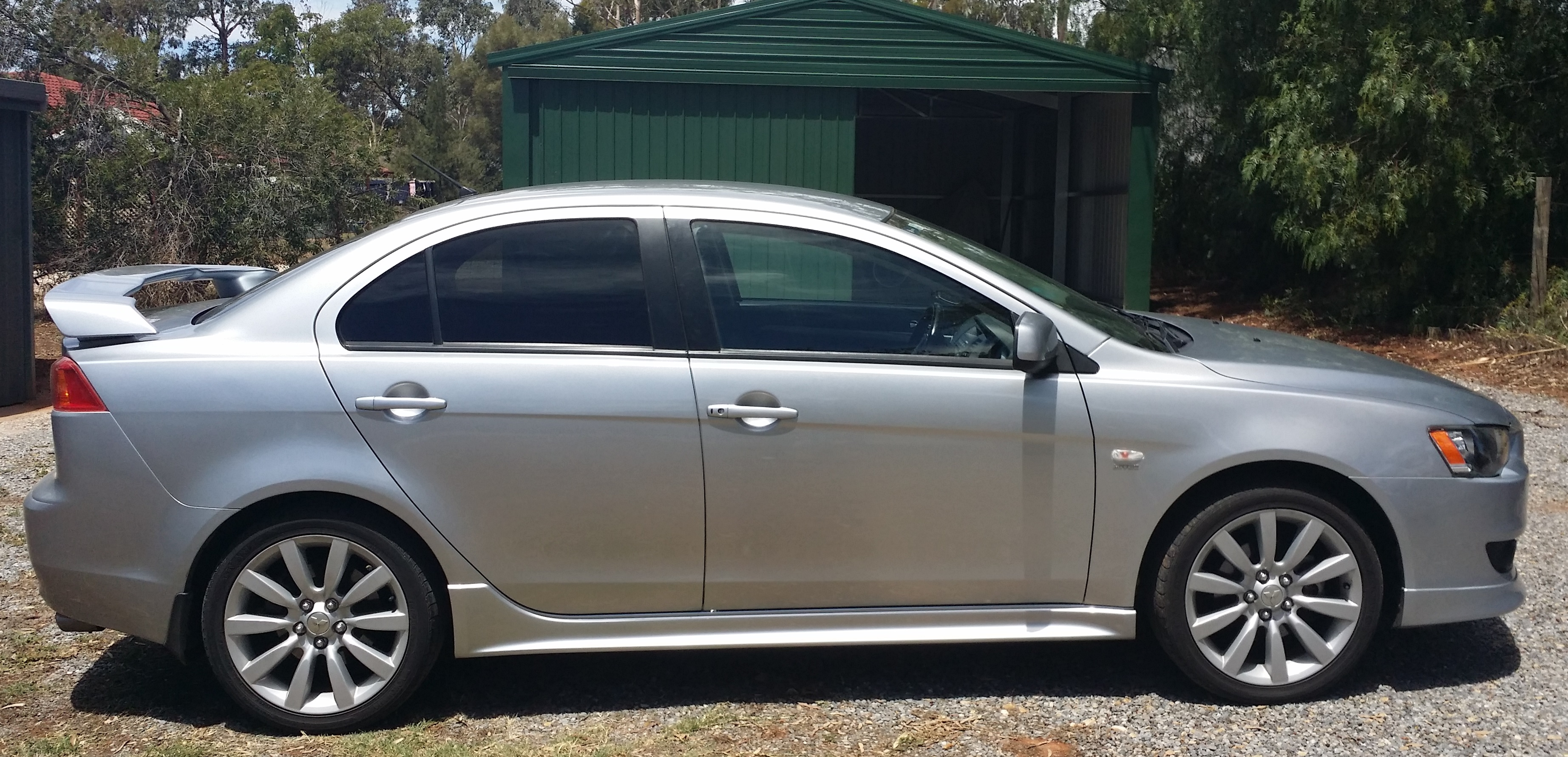 Mitsubishi lancer vrx for sale