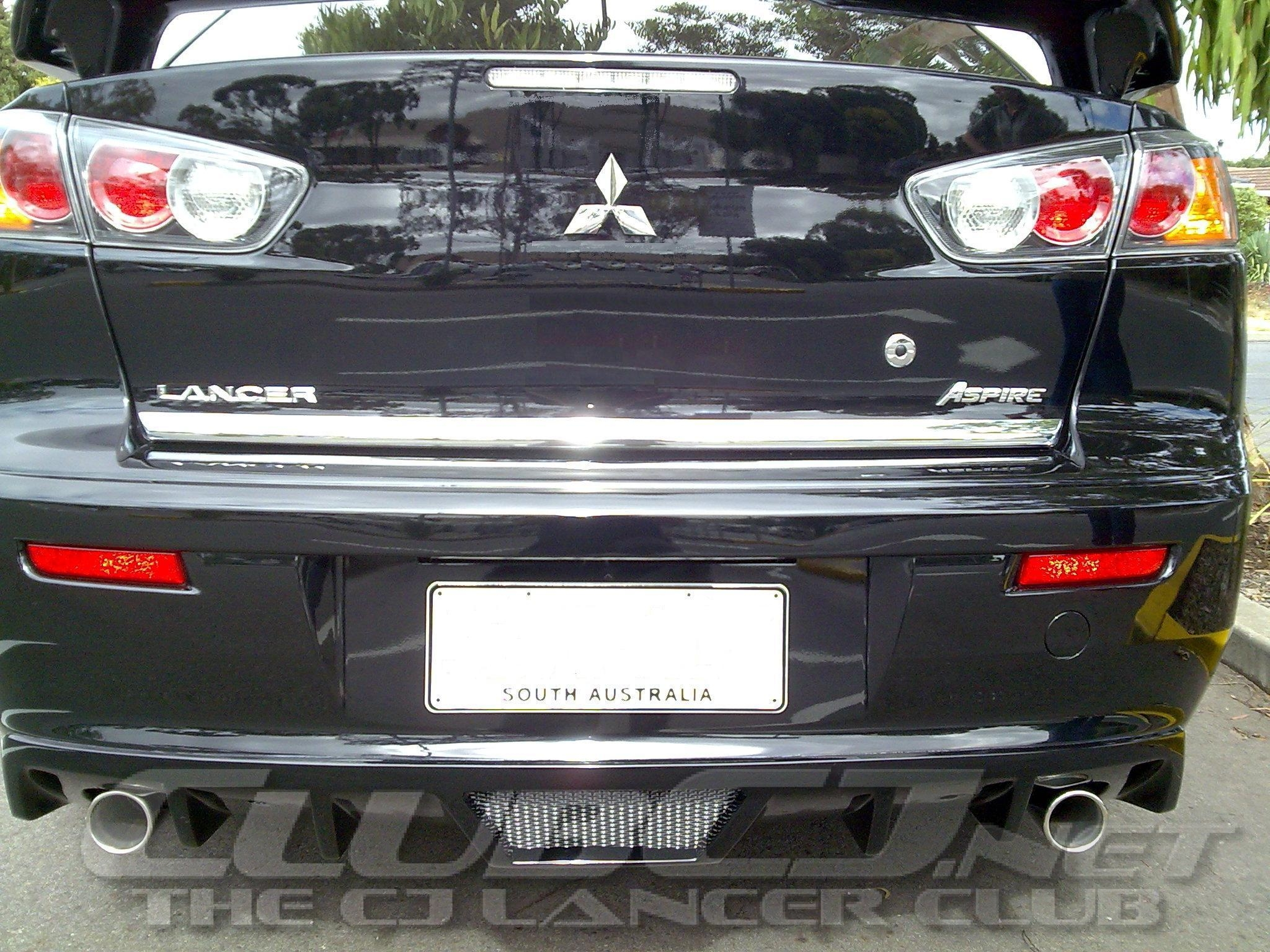 who has the talon rear diffuser clubcj the cj lancer club. Black Bedroom Furniture Sets. Home Design Ideas
