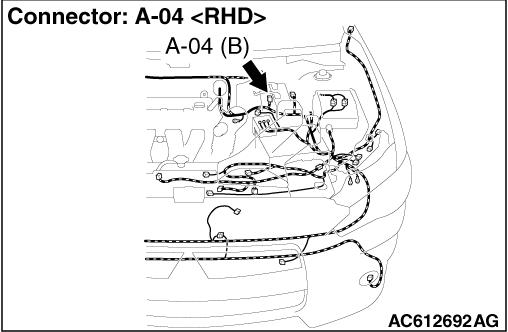 Code No  C1032 Abnormality in RR wheel speed sensor signal